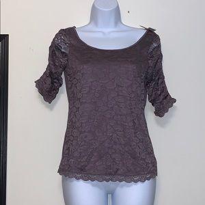 Nwt American Eagle lavender lace blouse